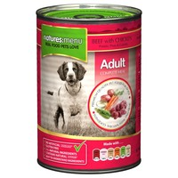 Natures Menu Adult Dog Food 12 x 400g Cans (Beef with Chicken) big image