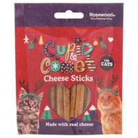 Rosewood Cupid & Comet Cheese Sticks for Cats 40g big image