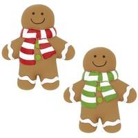 Good Boy Pawsley Christmas Squeaky Gingerbread Man big image