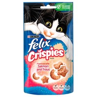 Felix Crispies Cat Treats 45g (Salmon and Trout) big image