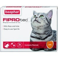 Beaphar FIPROtec Spot-On Solution for Cats big image