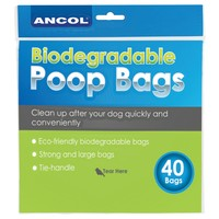 Ancol Bio-Degradable Waste Bags 40pk big image