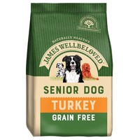 James Wellbeloved Senior Dog Grain Free Dry Food (Turkey & Vegetables) big image