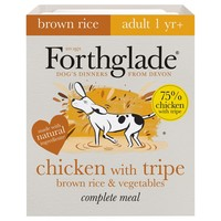 Forthglade Complete with Brown Rice Dog Food (Chicken/Tripe/Veg) big image