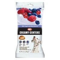 M&C Creamy Centers Dog Treats - Yogurt and Mixed Berries big image