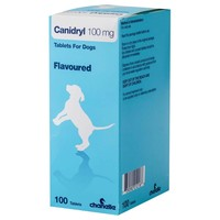 Canidryl 100mg Flavoured Tablets for Dogs big image