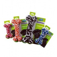 Pet Brands Knotties Bone Dog Toy big image