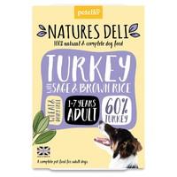 Natures Deli Adult Wet Dog Food Trays (Turkey) big image