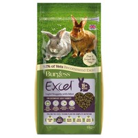 Burgess Excel Light Rabbit Nuggets with Mint 2kg big image