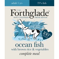 Forthglade Complete with Brown Rice Dog Food (Ocean Fish & Veg) 18 x 395g big image