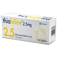 Thiafeline 2.5mg Tablets for Cats big image