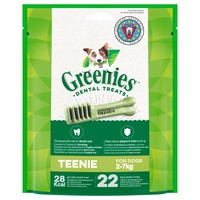 Greenies Daily Dental Treats for Teenie Dogs big image