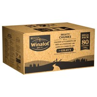 Winalot Meaty Chunks Adult Wet Dog Food in Gravy big image