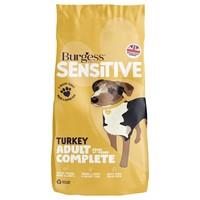 Burgess Sensitive Adult Dog Food (Turkey & Rice) big image