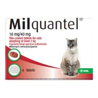 Milquantel 4mg/10mg Tablets for Small Cats and Kittens big image