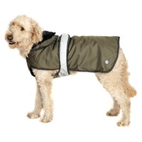 Danish Design 2 in 1 Reflective Dog Coat - Khaki big image