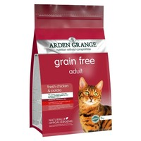 Arden Grange Grain Free Adult Cat Dry Food (Chicken & Potato) big image