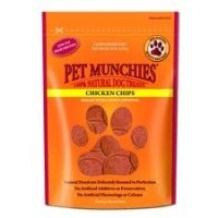 Pet Munchies Chicken Chips Treats for Dogs 100g big image