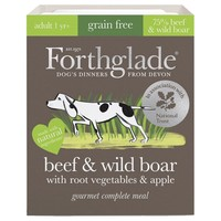 Forthglade Grain Free Gourmet Wet Dog Food (Beef & Wild Boar) big image
