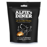 Alfie's Diner Gourmet Dog Treats with Succulent Chicken big image