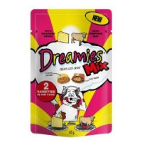 Dreamies Mix Beef and Cheese flavoured Cat Treats 60g big image