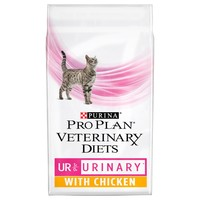 Purina Pro Plan Veterinary Diets UR St/Ox Urinary Dry Cat Food (Chicken) big image