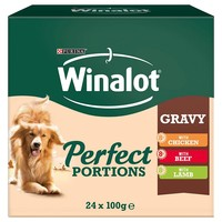 Winalot Perfect Portions Adult Wet Dog Food in Gravy big image