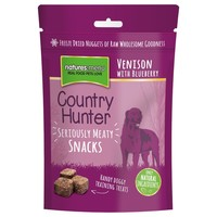 Natures Menu Country Hunter Snacks for Dogs 50g (Venison with Blueberry)  big image