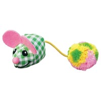 KONG Kitten Pom Tail Mouse Cat Toy big image