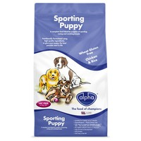 Alpha Sporting Puppy Dry Food big image