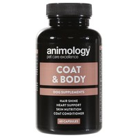 Animology Coat & Body Supplement for Dogs (60 Capsules) big image