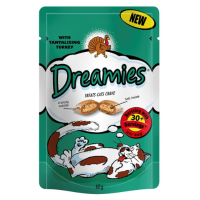 Dreamies Turkey Flavoured Cat Treats 60g big image