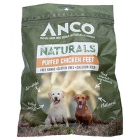 Anco Naturals Puffed Chicken Feet 80g big image