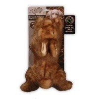 AFP Plush Rabbit Squeaker Dog Toy - Large big image