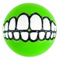 Rogz Grinz Treat Ball Lime big image