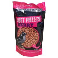 Unipet Suet To Go Suet Pellets for Birds (Berry) big image