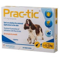 Prac-Tic Spot-On for Medium Dogs (6 Pack) big image