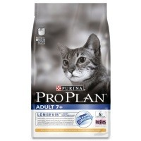 Purina Pro Plan Longevis 7+ Adult Cat Food 3kg (Chicken) big image