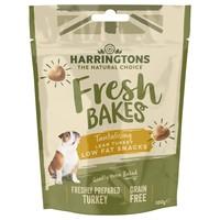 Harringtons Fresh Bakes Tantalising Lean Turkey Low Fat Snacks 100g big image