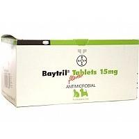 Baytril 15mg Flavour Tablet big image