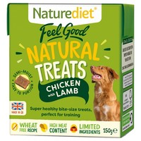 Naturediet Feel Good Natural Dog Treats (Chicken & Lamb) 150g big image