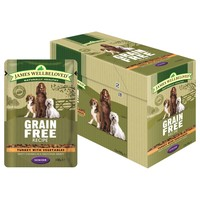 James Wellbeloved Grain Free Pouches for Senior Dogs big image