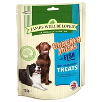 James Wellbeloved Crackerjacks 225g (Fish) big image