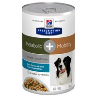 Hills Prescription Diet Metabolic Plus Mobility Tins for Dogs (Stew with Tuna & Vegetables big image