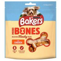 Bakers Mini Bones Dog Treats 94g (Chicken) big image