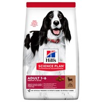 Hills Science Plan Adult 1-6 Medium Breed Dry Dog Food (Lamb) big image