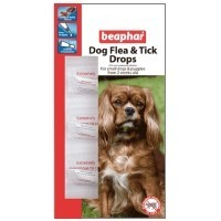 Beaphar Flea & Tick Drops for Small Dogs big image