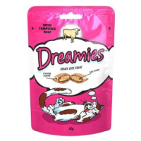 Dreamies Beef Flavoured Cat Treats 60g big image