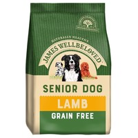 James Wellbeloved Senior Dog Grain Free Dry Food (Lamb & Vegetables) big image