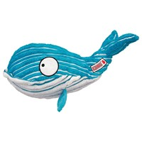 KONG Cuteseas Whale Dog Toy big image
